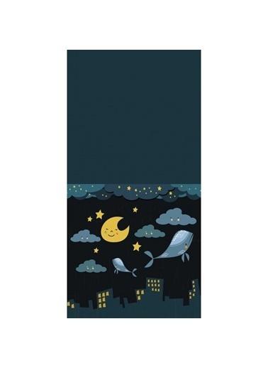Artikel Gece Konsepti Dekoratif Çift Taraflı Yastık Kırlent Kılıfı 45x45 cm Renkli